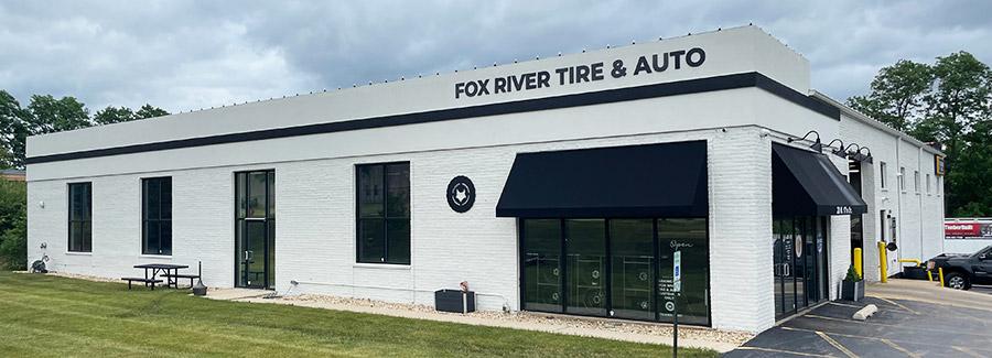 Fox River Tire Building Summer